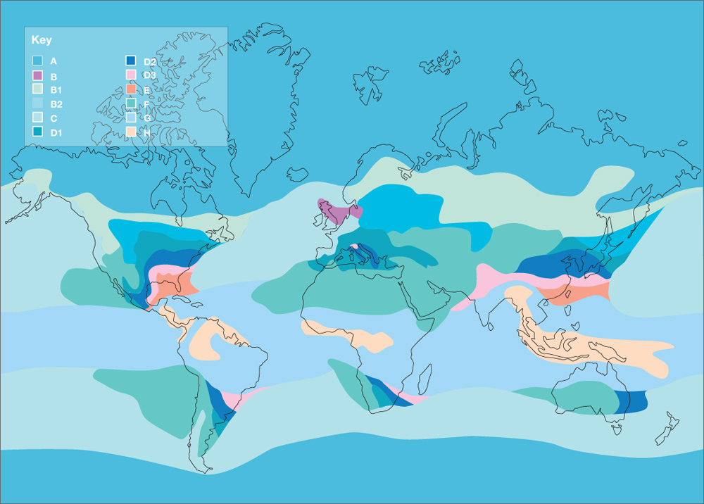 Fade Chart Global Rain Fade Chart