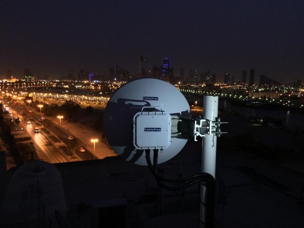 Cablefree Gigabit Wireless Technology